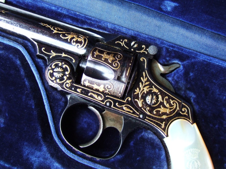 Smith & Wesson 32 engraved by Gastinne Renette