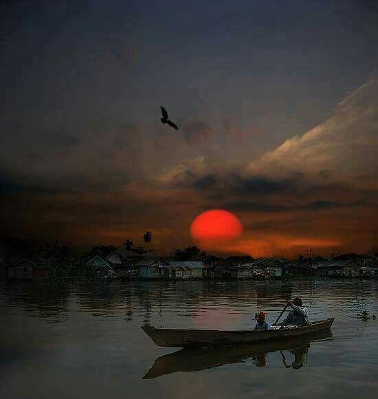 After Dark, Banjarmasin, South Borneo