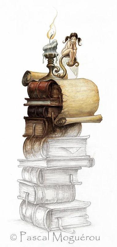 Ilustración de Pascal Moguerou. #BibUpo