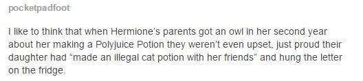 hermione`s parents