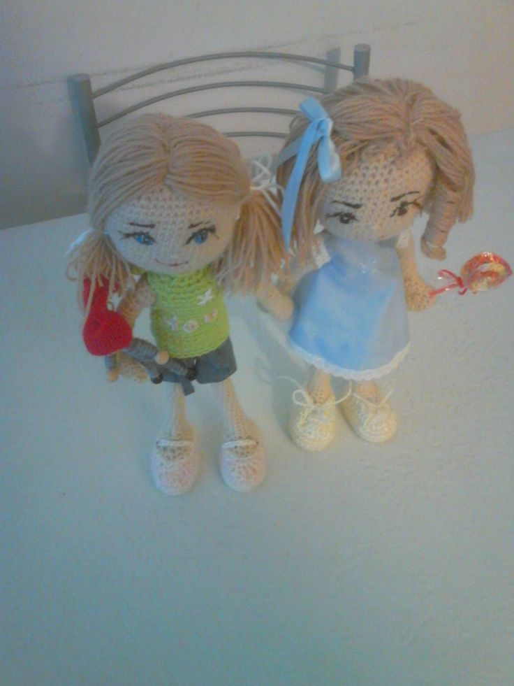 Muñecas ganchillo. Amigurumi