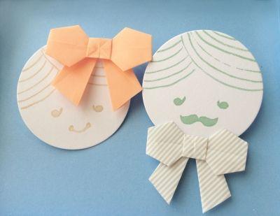 クリスマス 折り紙 折り紙 メッセージカード : ru.pinterest.com