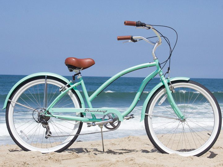 "Firmstrong Chief Lady 7 Speed - Women's 26"" Beach Cruiser Bike 