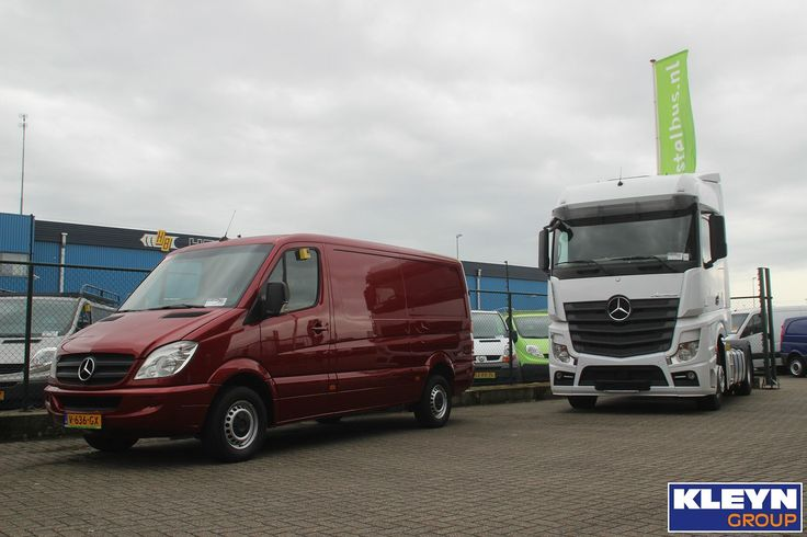Trucks and Vans: just like Mercedes, we've got it all!