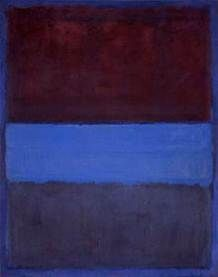 Atmospheric pictures by Mark Rothko