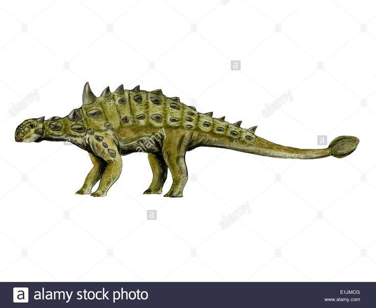 Euoplocephalus Dinosaur By Nobumichi Tamura