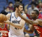 Report: 76ers' Thaddeus Young going to Timberwolves in Kevin Love trade