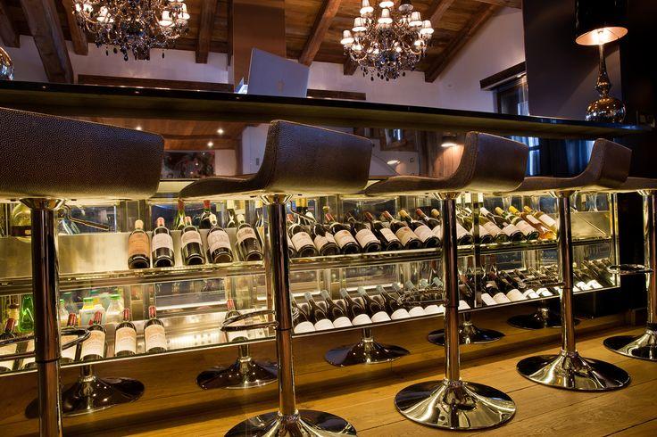 Cave à vin- wine cellar- chalet de luxe- luxury chalet -rental chalet -ikone -ikhome