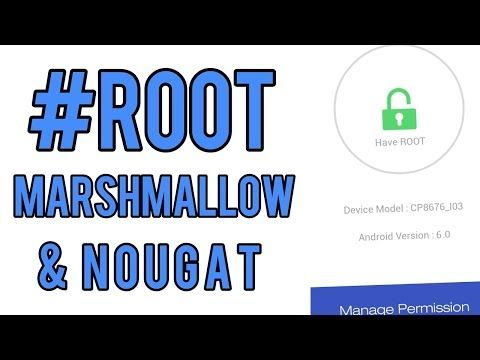 [ हिंदी /Hindi] ROOT | How to Root Android marshmallow 6.0.1 [Easy Method] - YouTube