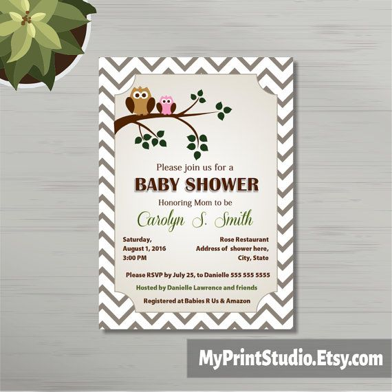 17 best Baby Announcement images on Pinterest Card templates - baby shower invitation templates for microsoft word