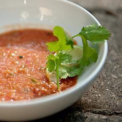 Quick and Fresh Gazpacho Allrecipes.com