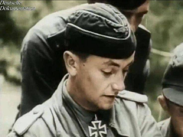 Otto Carius an der Ostfront, Sommer 1944 Ritterkreuz am 4. Mai 1944 als Leutnant der Reserve und Zugführer in der 2. Kompanie/schwere Panzer-Abteilung 502/61.Infanterie-Division/XXXXIII. Armee-Korps/Armeegruppe Narwa/Heeresgruppe Nord