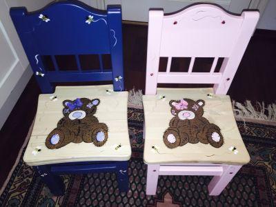 Stolene er supre gaver til barnedåp, fødselsdager og jul.
