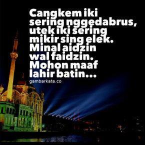 Gambar Ucapan Idul Fitri Bahasa Jawa 290x290 Gambar Kata Ucapan Idul Fitri Bahasa Jawa