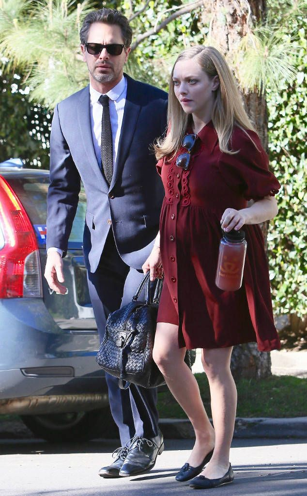 Amanda Seyfried & Thomas Sadoski from The Big Picture: Today's Hot Photos  The pregnant actress and her fiancé are spotted dressed to the nines in Los Angeles.