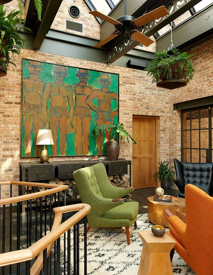 Edgy And Exquisite 20 Industrial Sunrooms With Modern Sheen Tropical Ceiling FansIndustrial