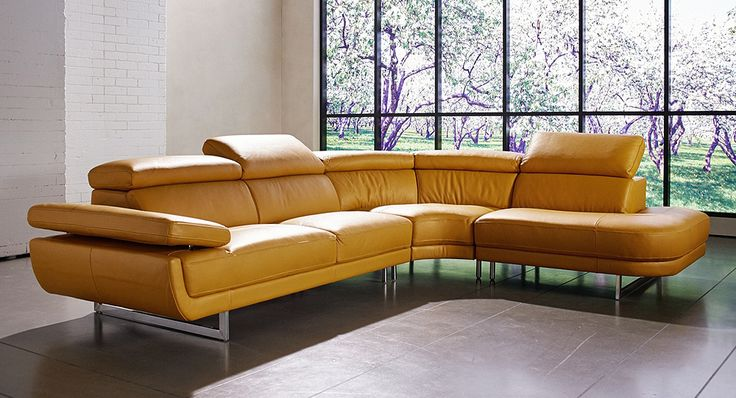 sessari leather lounge