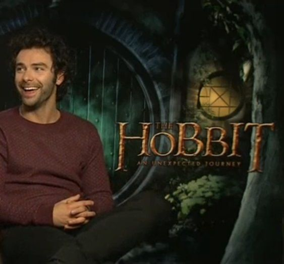 Aidan Turner (The Hobbit - An Unexpected Journey Interview)