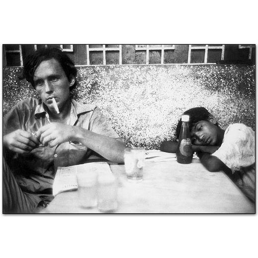 Mary Ellen Mark :: Bombay Restaurant, India, 1971, from 'Passport'
