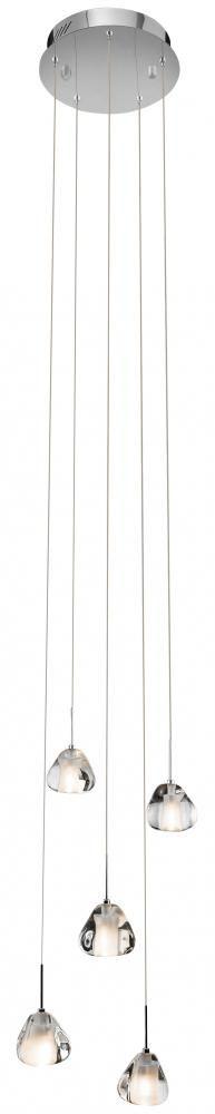 Chandelier Round Pendant : 5WYRL | Pego Lamps