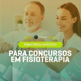 Mini Curso Gratuito de Concursos para Fisioterapia - Cursos E-Sanar