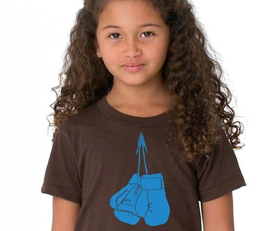 Kids Boxing Glove Shirt Short Sleeved Cotton Crewneck Gift http://etsy.me/2tPkwaF via @Etsy #Boxing #fighter #boxinggloves #kidsclothes