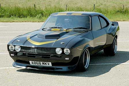 1984 Ford Capri V8 (by CHOP SHOP) ❤