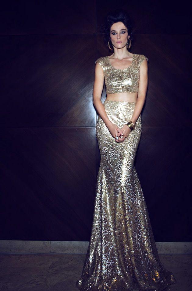 Gorgeous gold lehenga!
