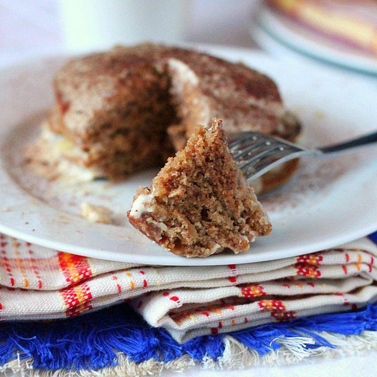 Vegan Tiramisu Pancakes. Coffee Chocolate Pancakes with maple liquor drizzle and cashew cream mascarpone. Vegan Pancake Recipe.