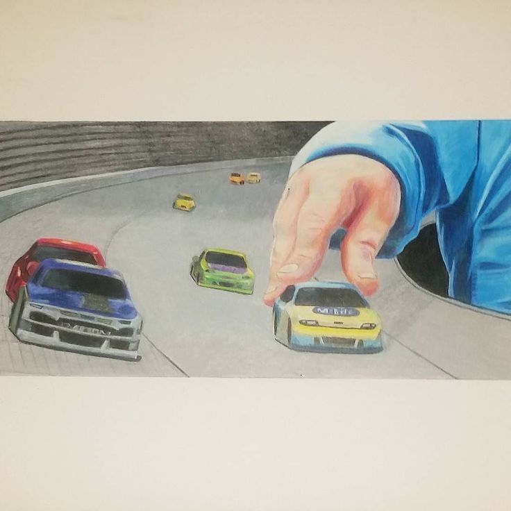 #art #surrealism #african #american #artist #LOSANGELES  #colorpencil #DRAWING #calstatefullerton #nascar #toy #car