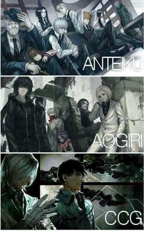 It worse knowing that Kaneki is in all three of these, or was before. Also the fact that he is conflicted every time he leaves from one to the other. Lastly, kaneki is just stuck crying over which one to go to and which one is the better. Glad to ruin ur day!