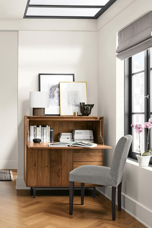 Hudson Modern Office Armoire With Steel