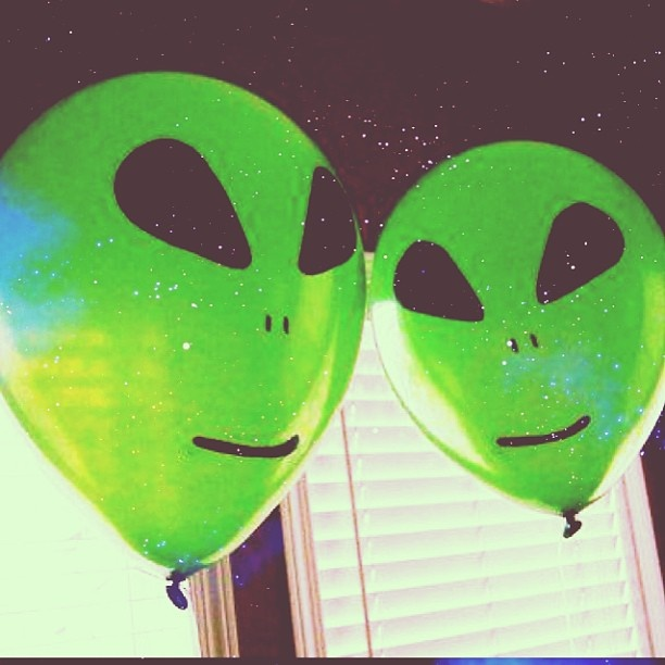 #aliens #baloon #partyideas