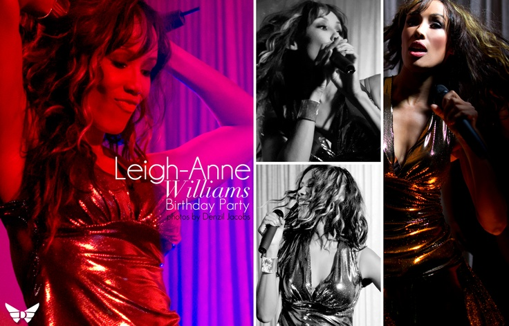 Leigh-Anne Williams' Birthday Party.