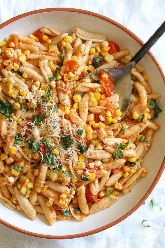 Summer Cavatelli with Corn, Tomatoes and Zucchini - https://www.gothiclife.win/summer-cavatelli-with-corn-tomatoes-and-zucchini/