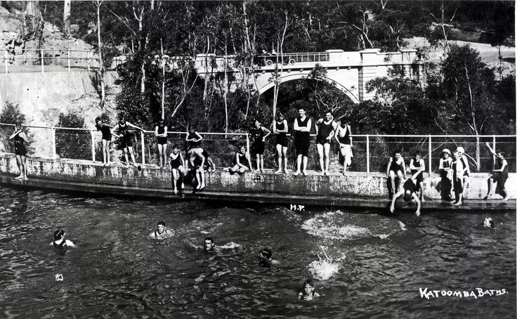 Katoomba Baths c1920 | by Blue Mountains Local Studies