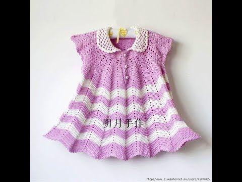 Crochet baby dress| for free |crochet Patterns| 1966