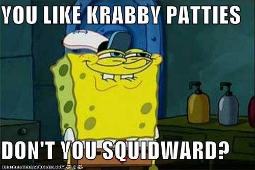 Spongebob Meme - featured on womanlywoman.com