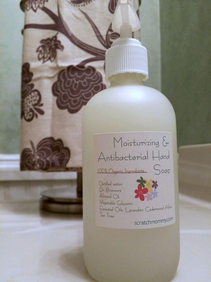 Super Moisturizing Diy Antibacterial Hand Soap Leaves