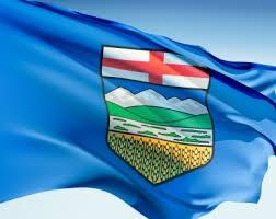 Official Alberta Flag