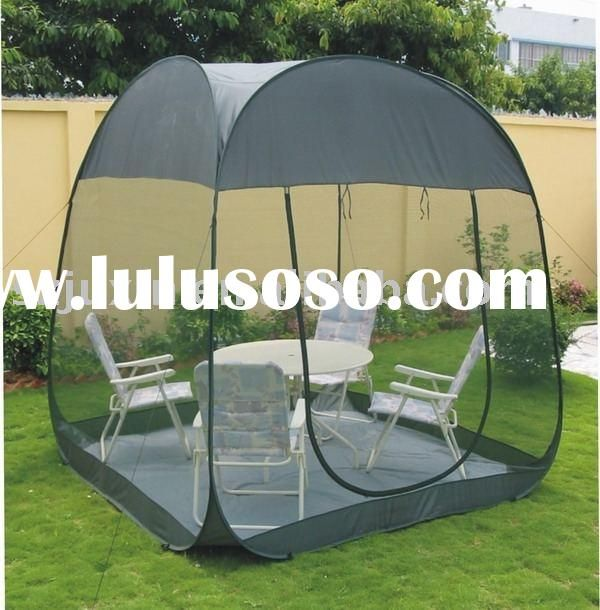 Steel Wire Pop Up Screen House,Family Tent