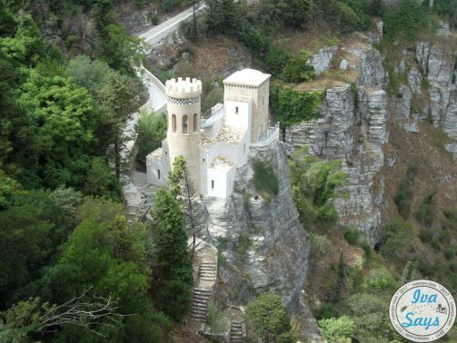 Many know it as the white castle or white stronghold in the fortress walls of the Castle of Venus (Castello di Venero), this is Castelo del Balio in Erice, Sicily. #travel #italy #adventures #wanderlust #bucketlist #europe