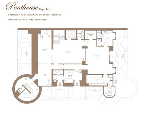 Behold the floorplan for back bay 39 s fanciest new for Quadruplex apartment plans