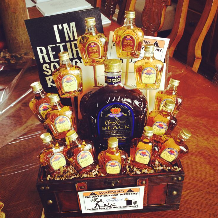 Crown Royal gift basket!