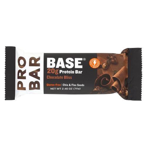 Probar Base Bar - Chocolate Bliss - Case Of 12 - 2.46 Oz.