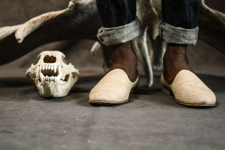 Beautiful Del Toro x Street Etiquette Portofino slippers.
