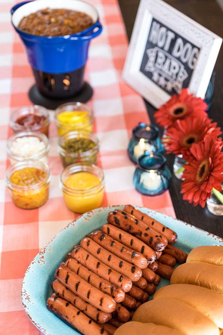 Memorial Day Hot Dog Bar