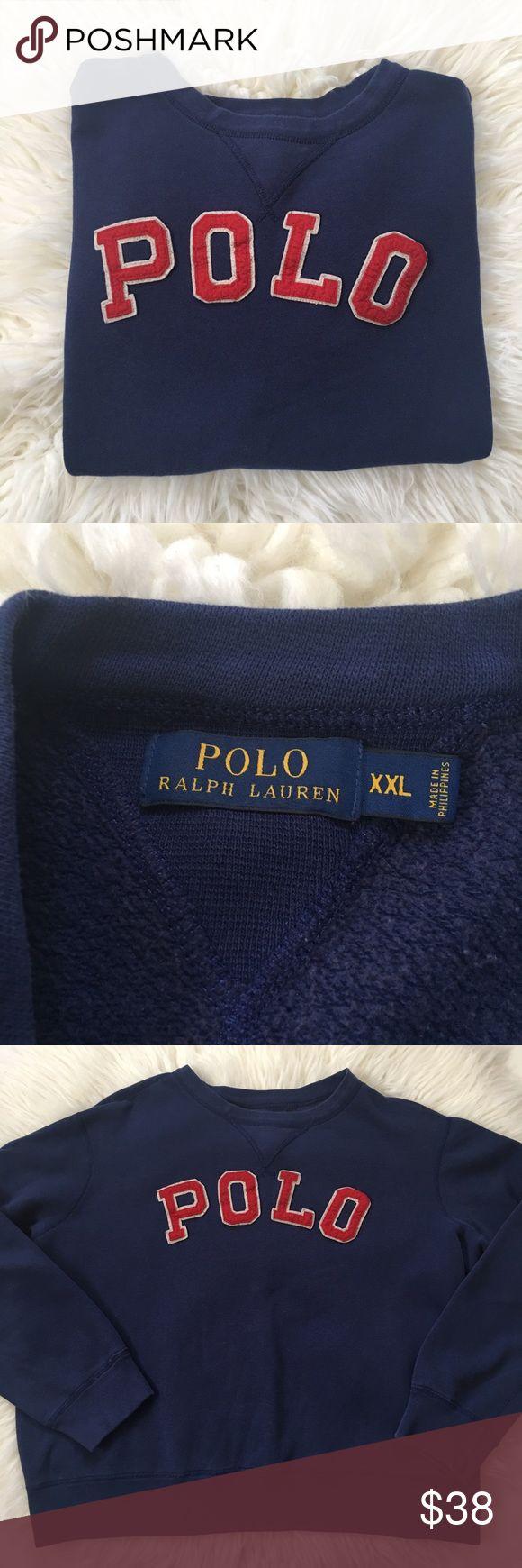 POLO Ralph Lauren Sweatshirt Perfectly worn in!!  Pit to Pit 28  Shoulder to Hem 26 Polo by Ralph Lauren Shirts Sweatshirts & Hoodies