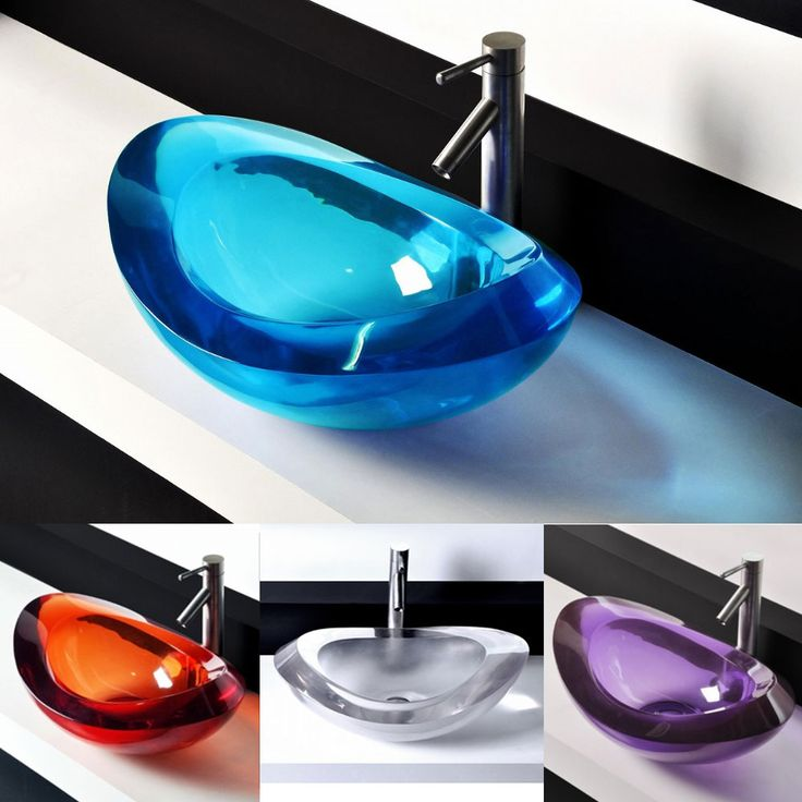 Uniquely Beautiful Vessel Bathroom Sinks