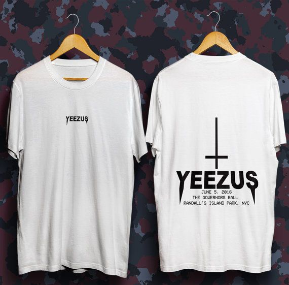 what if we put legacy nashville on the front, a cross, and jesus instead of yeezus on the back ? maybe